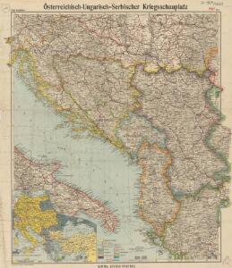 Österreichisch-Ungarisch=Serbischer Kriegsschauplatz