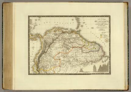 Colombie, Guyane Francaise, Hollandaise et Anglaise.