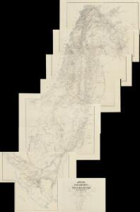 Atlas von Palaestina und der Sinai-Halbinsel : zu C. Ritter's Erdkunde Band XIV-XVI