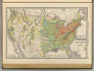 United States population density 1890.