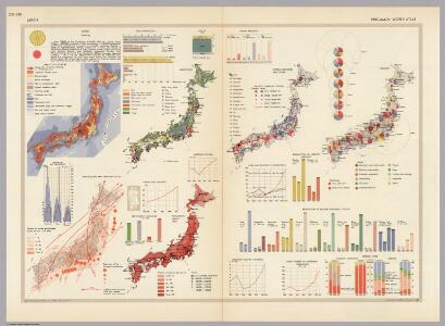 Japan.  Pergamon World Atlas.