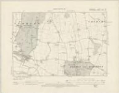 Derbyshire LIII.NW - OS Six-Inch Map
