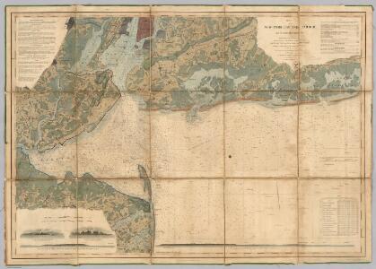 New York Bay And Harbor.