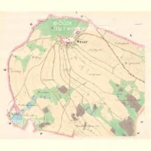 Wesze - m3353-1-001 - Kaiserpflichtexemplar der Landkarten des stabilen Katasters