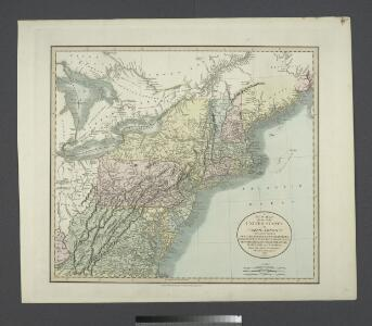 A new map of part of the United States of North America : containing those of New York, Vermont, New Hampshire, Massachusets, Connecticut, Rhode Island, Pennsylvania, New Jersey, Delaware, Maryland and Virginia from the latest authorities / by John Cary,