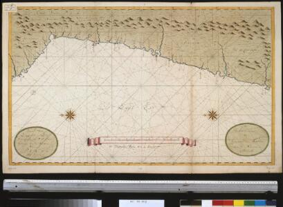 Een gedeelte van de Zuijdt-Zee van Quilca tot Po. El Guasco geleegen aen de kust van Peru