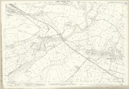 Yorkshire IV.4 (includes: Holwick; Lunedale; Mickleton) - 25 Inch Map