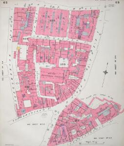 Insurance Plan of City of London Vol. III: sheet 65