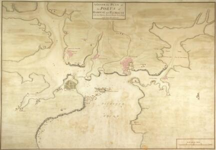General Plan of the Ports of Homouse and Plymouth