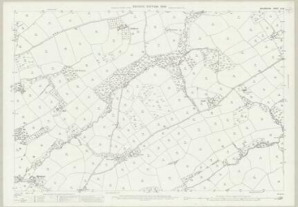 Devon LII.8 (includes: Broadwood Kelly; Iddesleigh; Monk Okehampton) - 25 Inch Map