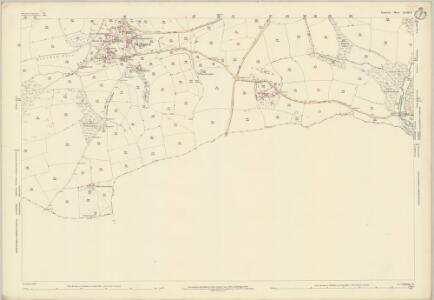Somerset LXVIII.6 (includes: Bampton; Morebath; Skilgate; Upton) - 25 Inch Map