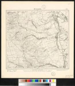 Meßtischblatt 3295 : Alt- Lomnitz, 1884