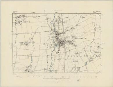 Bedfordshire XVII.NE - OS Six-Inch Map