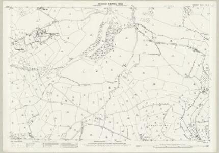 Somerset LIV.14 (includes: Bruton; Lamyat; Milton Clevedon) - 25 Inch Map