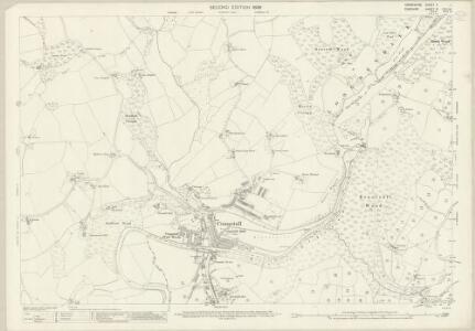 Derbyshire V.1 (includes: Bredbury and Romiley; Marple) - 25 Inch Map