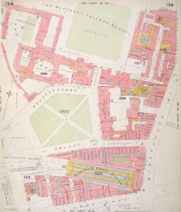 Insurance Plan of London Vol. VI: sheet 134
