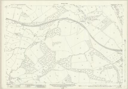 Monmouthshire XIX.14 (includes: Gwehelog Fawr; Llanbadog Fawr; Usk) - 25 Inch Map