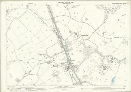 Hertfordshire XXXIX.12 (includes: Aldenham; St Stephen) - 25 Inch Map