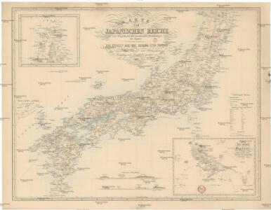 Karte vom Japanischen Reiche