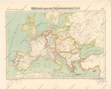 Mitteleuropa zur Napoleonischen Zeit