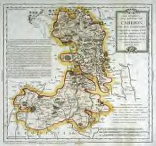 Mapa geográfico del partido de Carrion