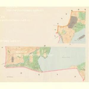 Poniedraž - c6006-1-004 - Kaiserpflichtexemplar der Landkarten des stabilen Katasters