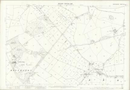 Staffordshire XL.6 (includes: Anslow; Hanbury; Tutbury) - 25 Inch Map