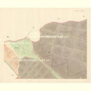 Unter Bojanowitz - m0481-1-002 - Kaiserpflichtexemplar der Landkarten des stabilen Katasters