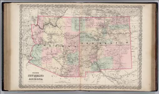New Mexico and Arizona.