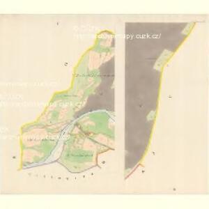 Unter Beczwa (Dolni Beczwa) - m0477-1-002 - Kaiserpflichtexemplar der Landkarten des stabilen Katasters