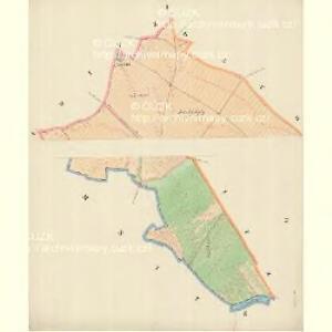 Polein (Polanin) - m2218-1-001 - Kaiserpflichtexemplar der Landkarten des stabilen Katasters