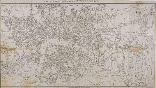 MAP of LONDON and its ENVIRONS 203