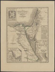 [Historisch-geographischer Atlas zu den allgemeinen Geschichtswerken von C. v. Rotteck, Pölitz u. Becker] : Aegypten und Canaan seit der frühesten Zeit bis auf Moses