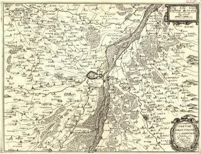 Accuratissima Territorij Argentoratensis et Annexorum Tabella In lucem edita