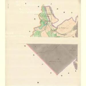 Raabe (Hrabowa) - m0877-1-001 - Kaiserpflichtexemplar der Landkarten des stabilen Katasters