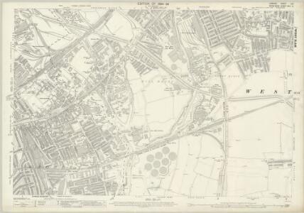 London (Edition of 1894-96) LIII (includes: Poplar Borough; West Ham) - 25 Inch Map