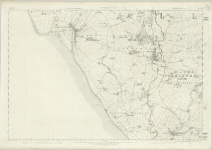 Cumberland LXXII - OS Six-Inch Map