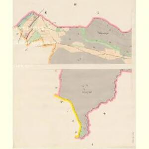 Espenthor - c5463-1-001 - Kaiserpflichtexemplar der Landkarten des stabilen Katasters