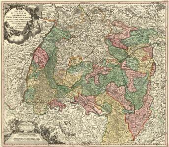 S. R. I. Circulus Sueviae continens Ducatum Wirtenbergensem