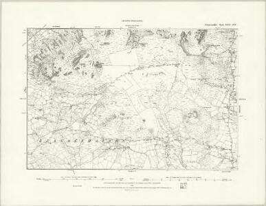 Caernarvonshire XXV.NE - OS Six-Inch Map