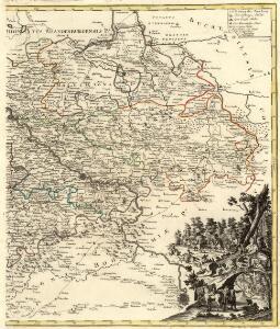 Inter valla Viaeque publicae Electoratus Saxoniae cursorum publicorum distantiis definitae suisque mensuris descripta