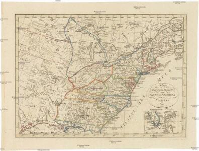 CHARTE von den VEREINIGTEN STAATEN von NORD-AMERICA mit LUISIANA