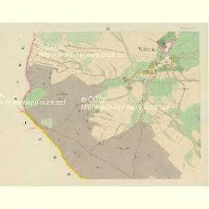 Mallonitz (Malonice) - c4436-1-003 - Kaiserpflichtexemplar der Landkarten des stabilen Katasters