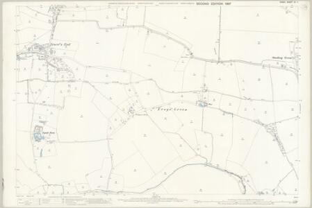 Essex (1st Ed/Rev 1862-96) IX.7 (includes: Radwinter; Saffron Walden; Wimbish) - 25 Inch Map