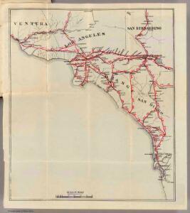 Ventura, Los Angeles, San Bernardino, Orange, and San Diego Counties.