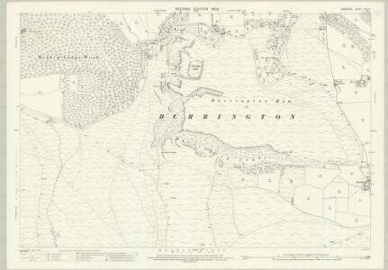 Somerset XVIII.6 (includes: Blagdon; Burrington; Churchill; Shipham) - 25 Inch Map