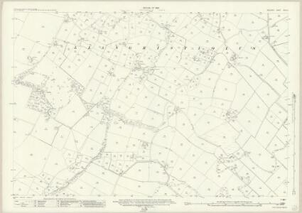 Anglesey XVIII.10 (includes: Llangristiolus) - 25 Inch Map