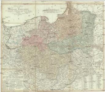 Generalkarte vom Königreich Preussen