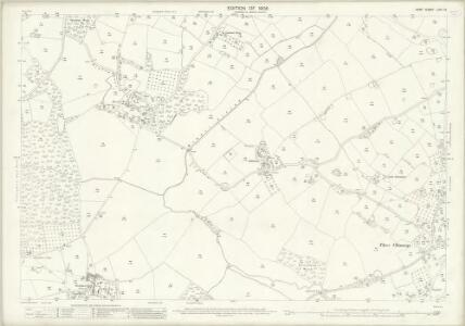 Kent LXIII.13 (includes: Cranbrook; Frittenden) - 25 Inch Map