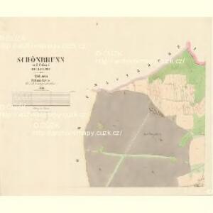 Schönbrunn - c7497-3-001 - Kaiserpflichtexemplar der Landkarten des stabilen Katasters